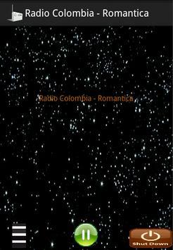 Radio Colombia - Romantica apk screenshot