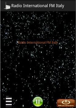 Radio International FM Italy poster