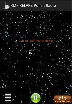 RMF RELAKS Polish Radio poster