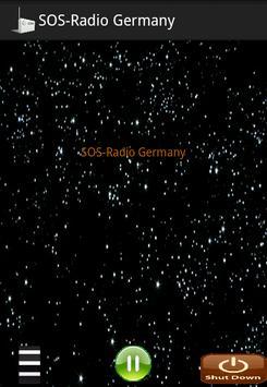 SOS-Radio Germany poster