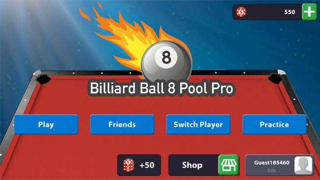 Billiard Ball 8 Pool Pro poster