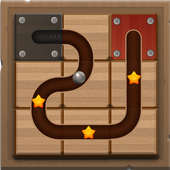 Rolling Ball, Slide Puzzle icon