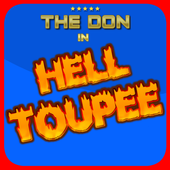 Trump Donalds Hair Hell Toupee icon