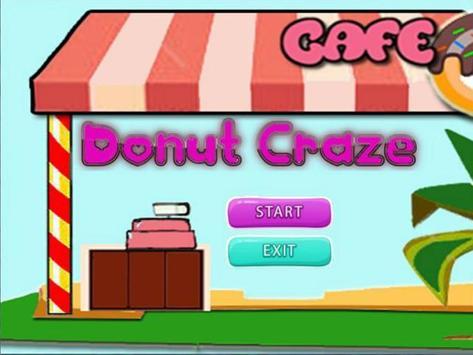 Cooking Donut Craze poster