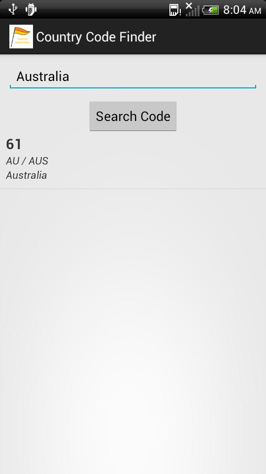 Country Code Finder for Android - APK Download