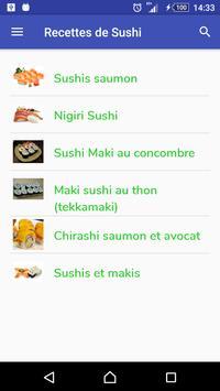 Sushi Recipes poster