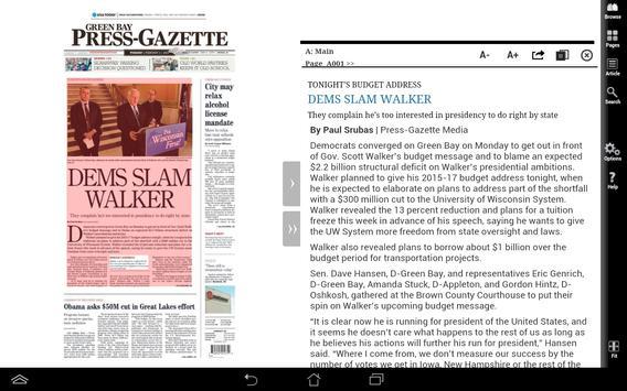 Green Bay Press-Gazette Print screenshot 3