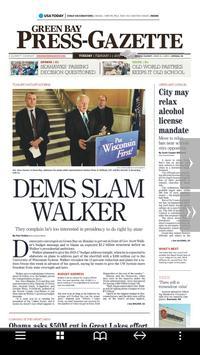 Green Bay Press-Gazette Print apk screenshot
