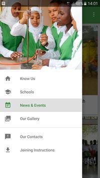 Green Bird Schools poster