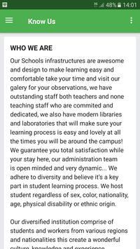 Green Bird Schools screenshot 1