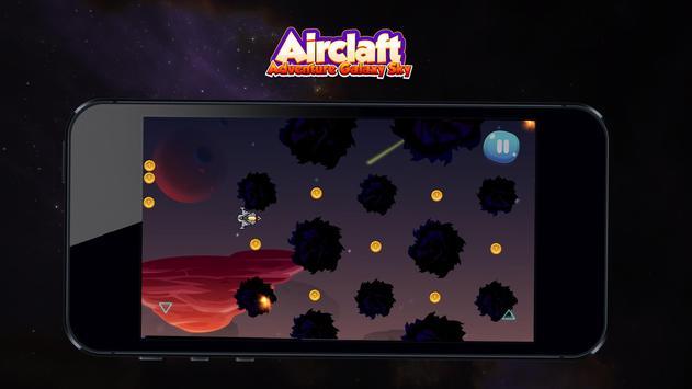 Aircraft Adventure Galaxy Sky apk screenshot