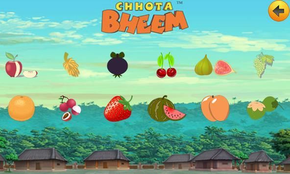 Learn Fruits with Bheem poster