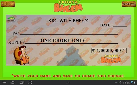 KBC Quiz with Bheem apk screenshot