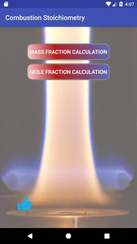 Combustion Stoichiometry poster