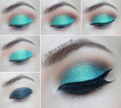 Green Eye Makeup Tutorials screenshot 3