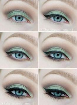 Green Eye Makeup Tutorials screenshot 4