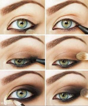 Green Eye Makeup Tutorials screenshot 5