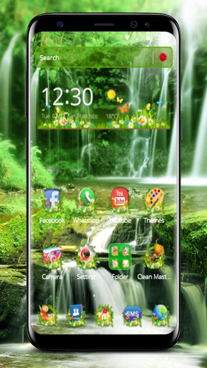 Green Forest Nature Theme for Android - APK Download