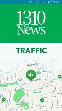 1310 NEWS Traffic poster