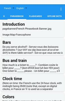 French English Translator Free apk screenshot