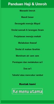 Tuntunan Haji Dan Umroh (New) screenshot 19