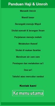 Tuntunan Haji Dan Umroh (New) screenshot 1