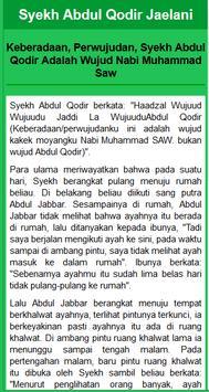 Syech Abdul Qodir Al Jaelani apk screenshot