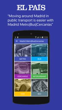 Madrid Metro   Bus   Cercanias poster