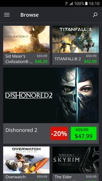 Green Man Gaming screenshot 1