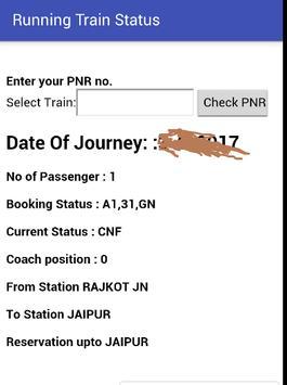 IndianTrain Info apk screenshot