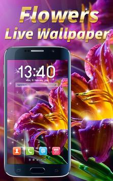 Flowers Live Wallpaper poster