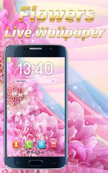 Flowers Live Wallpaper apk screenshot