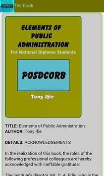 Elements of Public Administration screenshot 4