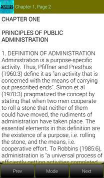 Elements of Public Administration screenshot 7