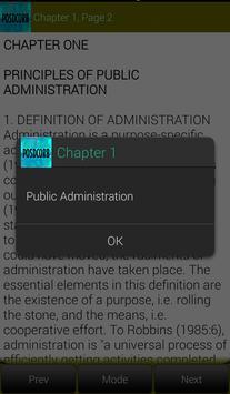 Elements of Public Administration screenshot 8