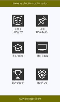 Elements of Public Administration screenshot 1