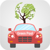 Green Pool: Instant Carpooling icon