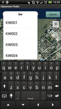 Classroom Finder apk screenshot