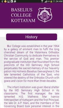 Baselius College screenshot 13