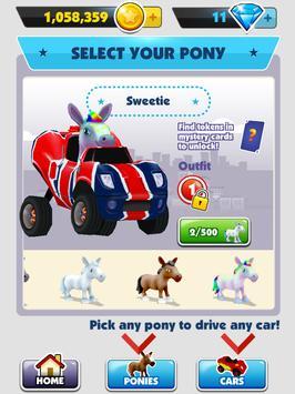 Pony Craft Unicorn Car Racing - Pony Care Girls 截圖 9