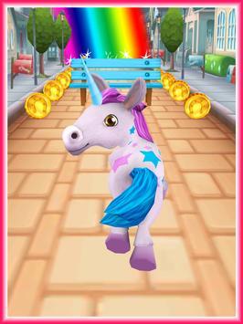 Unicorn Runner 3D - Horse Run apk screenshot