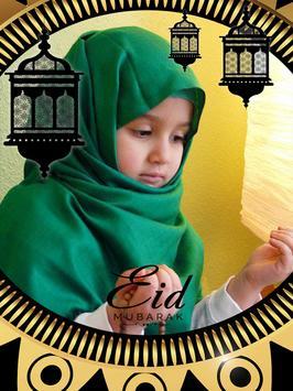 Eid Mubarak Photo Frames poster