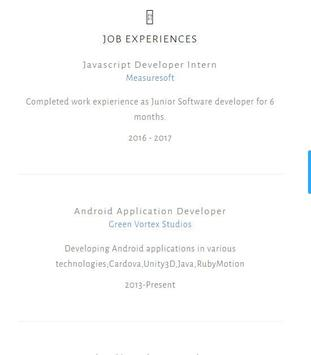 Jan Andersson CV apk screenshot