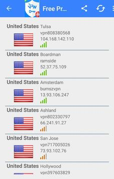 Unlimited Free Proxy Vpn screenshot 1