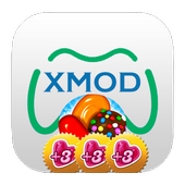 Candy Xmod Crush bonus Life icon