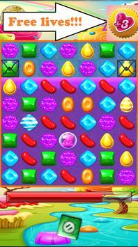 Candy Xmod Crush bonus Life screenshot 2