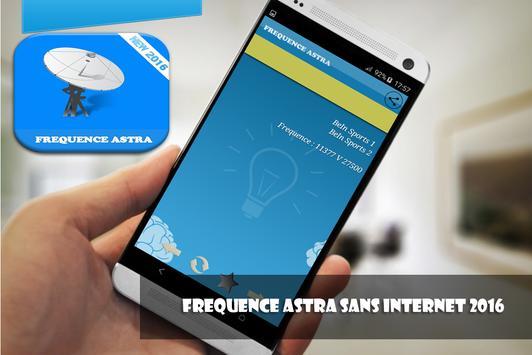 frequence astra 2016 sans net apk screenshot