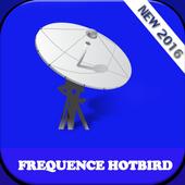 تردد قنوات hotbird frequence icon