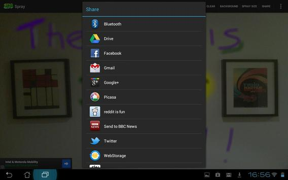 Spray apk screenshot