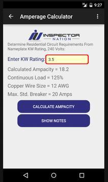 Inspection HVAC Calculator screenshot 1